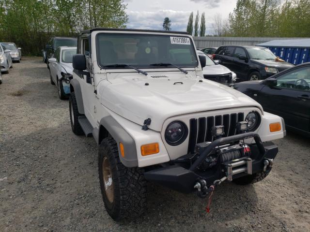 Salvage cars for sale from Copart Arlington, WA: 2005 Jeep Wrangler