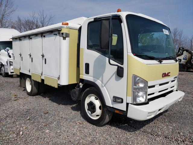 Salvage cars for sale from Copart Central Square, NY: 2009 GMC W4500 W450