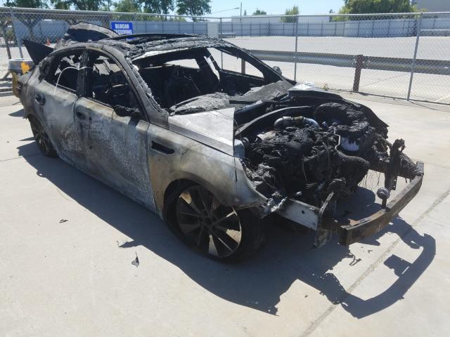Salvage cars for sale from Copart Sacramento, CA: 2016 KIA Optima SXL