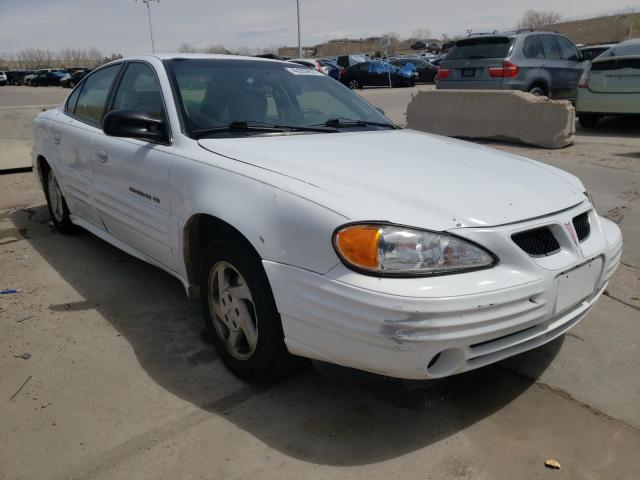 Pontiac Grand AM salvage cars for sale: 2000 Pontiac Grand AM