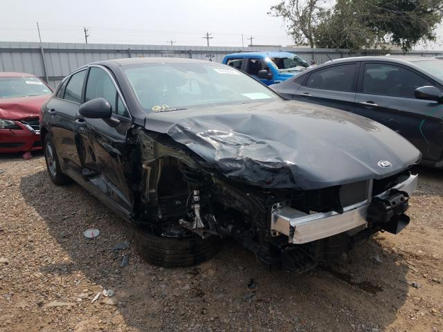 Salvage cars for sale from Copart Mercedes, TX: 2021 KIA K5 LXS