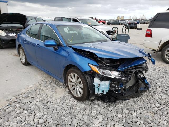 Salvage cars for sale from Copart New Orleans, LA: 2020 Toyota Camry LE