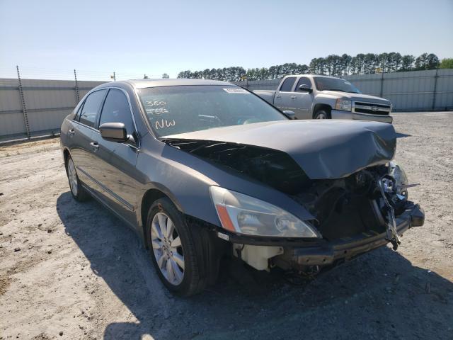 Honda salvage cars for sale: 2007 Honda Accord EX