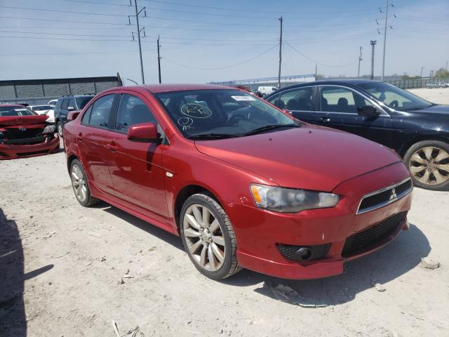 Salvage cars for sale from Copart Columbus, OH: 2009 Mitsubishi Lancer GTS