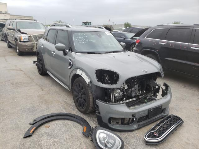 Salvage cars for sale from Copart Tulsa, OK: 2020 Mini Cooper S C