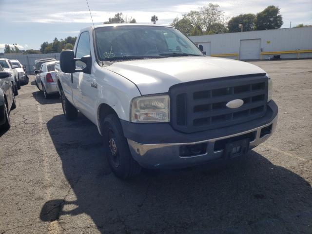 Salvage cars for sale from Copart Vallejo, CA: 2007 Ford F250 Super