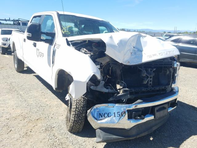Salvage cars for sale from Copart Anderson, CA: 2019 Ford F250 Super