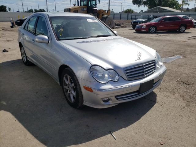 Salvage cars for sale from Copart Riverview, FL: 2007 Mercedes-Benz C 280 4matic
