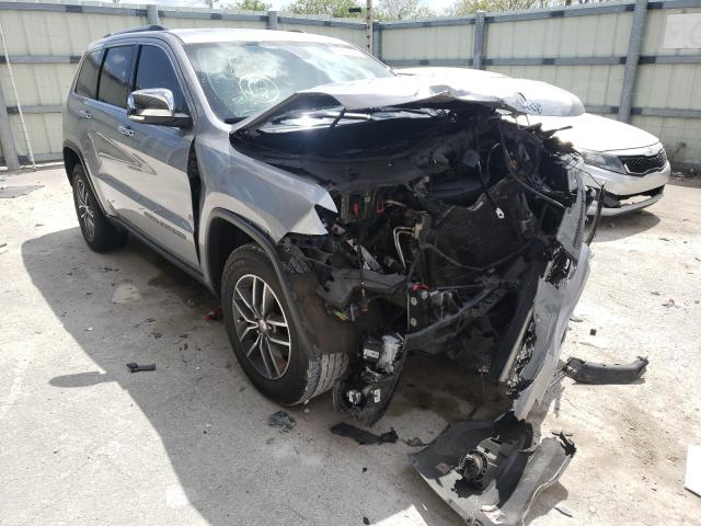 Salvage cars for sale from Copart Homestead, FL: 2017 Jeep Grand Cherokee