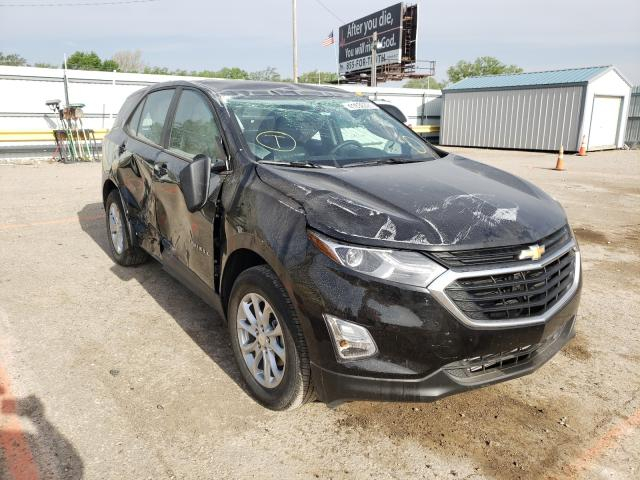 Salvage cars for sale from Copart Wichita, KS: 2021 Chevrolet Equinox