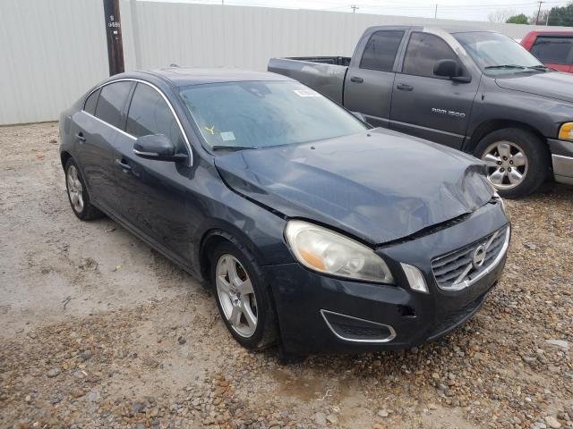 Salvage cars for sale from Copart Mercedes, TX: 2012 Volvo S60 T5