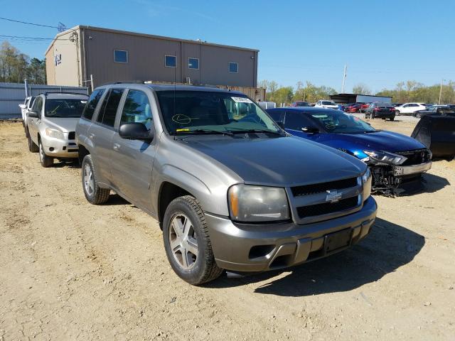 Salvage cars for sale from Copart Glassboro, NJ: 2009 Chevrolet Trailblazer