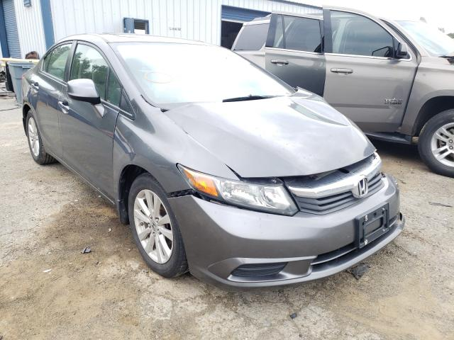 Salvage cars for sale from Copart Shreveport, LA: 2012 Honda Civic EX