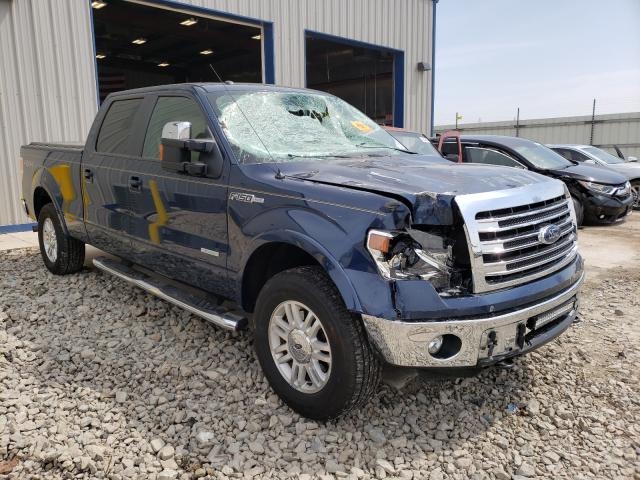 Salvage cars for sale from Copart Appleton, WI: 2014 Ford F150 Super