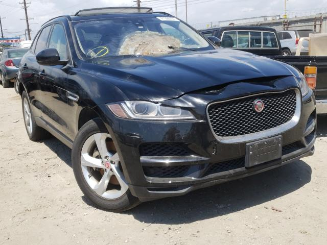 Jaguar salvage cars for sale: 2018 Jaguar F-PACE Premium