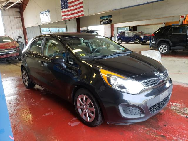 Salvage cars for sale from Copart Angola, NY: 2012 KIA Rio EX