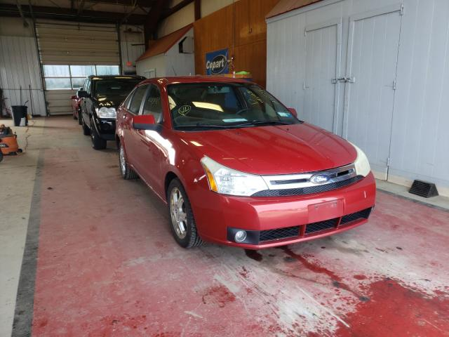 Salvage cars for sale from Copart Angola, NY: 2009 Ford Focus SES