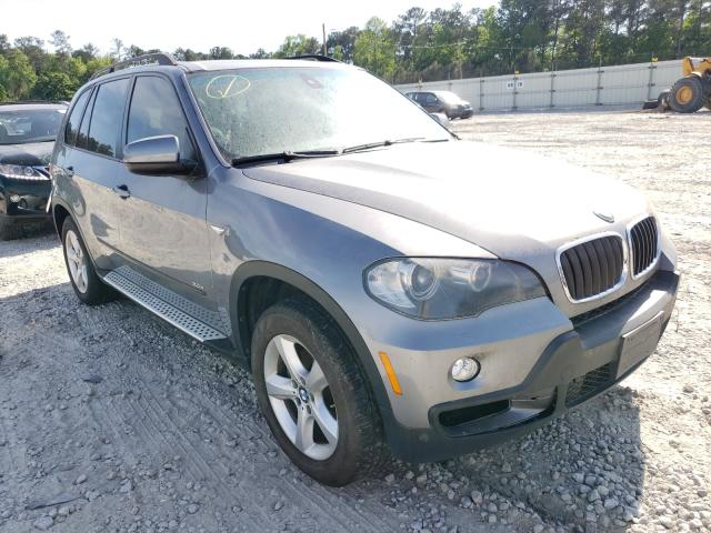 Salvage cars for sale from Copart Ellenwood, GA: 2008 BMW X5 3.0I