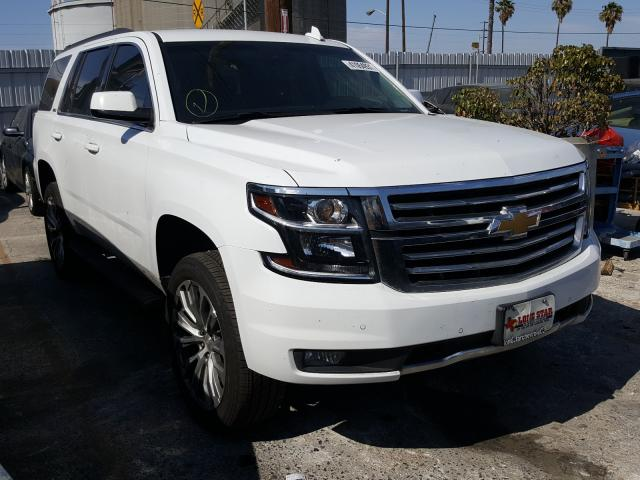 Salvage cars for sale from Copart Wilmington, CA: 2019 Chevrolet Tahoe K150