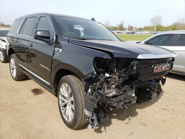 Salvage cars for sale from Copart Columbia Station, OH: 2021 GMC Yukon Dena