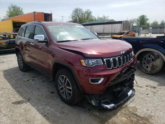 Salvage cars for sale from Copart Bridgeton, MO: 2020 Jeep Grand Cherokee