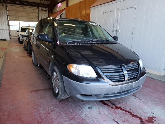 Salvage cars for sale from Copart Angola, NY: 2007 Dodge Caravan