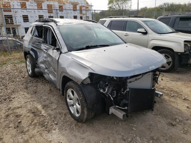 Salvage cars for sale from Copart Madison, WI: 2019 Jeep Compass LA