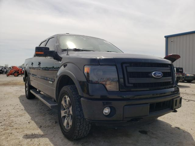 Salvage cars for sale from Copart Sikeston, MO: 2014 Ford F150 Super