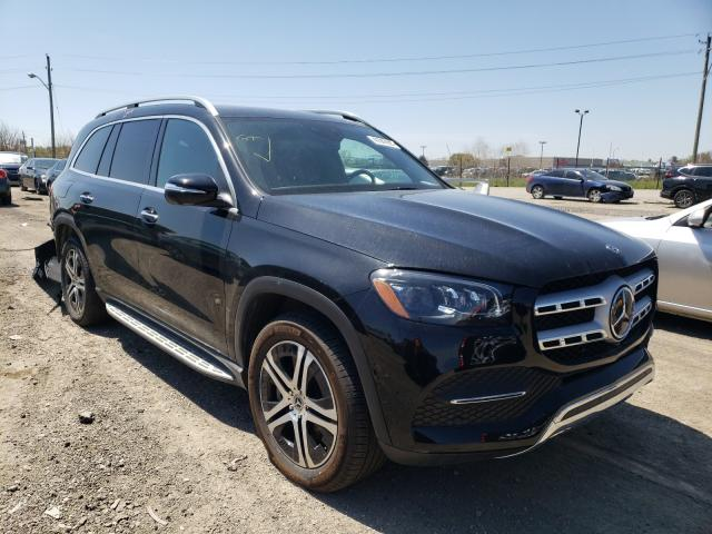 Salvage cars for sale from Copart Indianapolis, IN: 2020 Mercedes-Benz GLS 450 4M