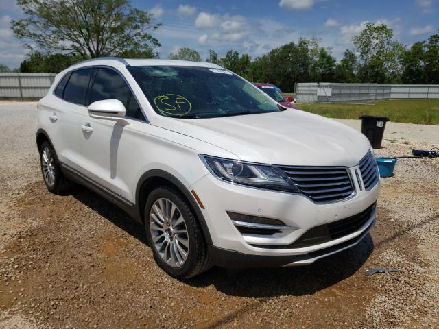Salvage cars for sale from Copart Theodore, AL: 2017 Lincoln MKC Reserv
