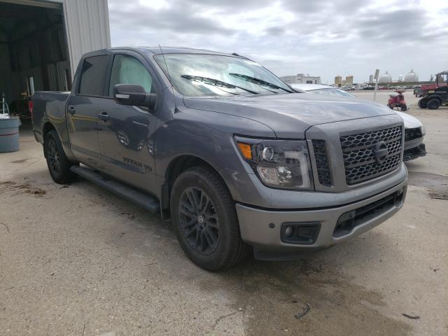 Salvage cars for sale from Copart New Orleans, LA: 2019 Nissan Titan Platinum