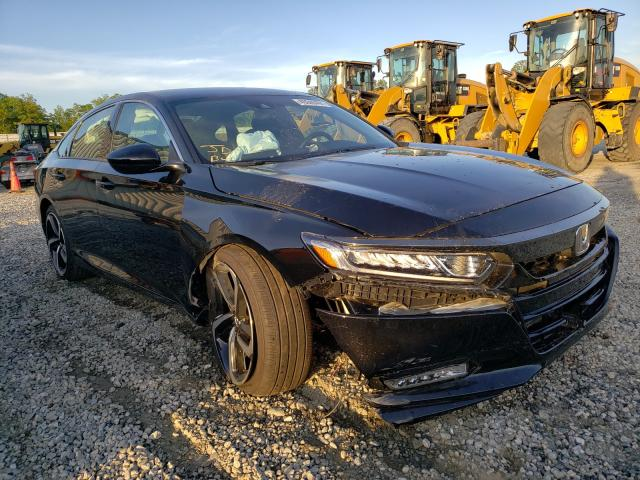 Salvage cars for sale from Copart Spartanburg, SC: 2020 Honda Accord Sport