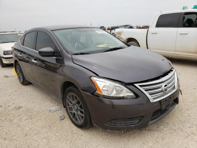 Salvage cars for sale from Copart San Antonio, TX: 2015 Nissan Sentra S