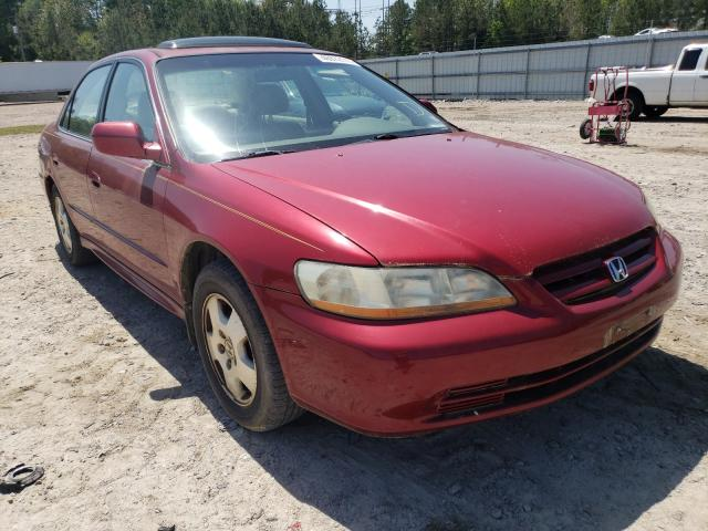 Salvage cars for sale from Copart Charles City, VA: 2001 Honda Accord EX