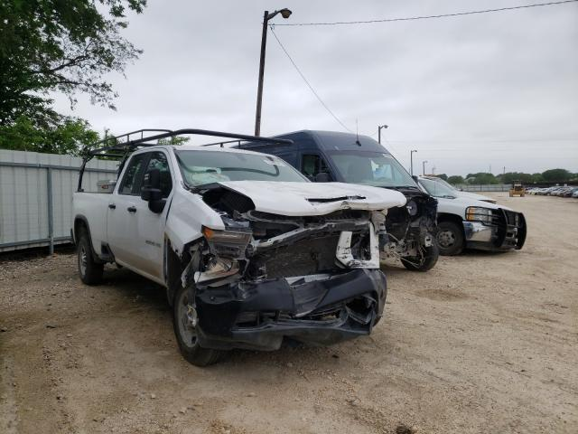 Salvage cars for sale from Copart Temple, TX: 2020 Chevrolet Silverado