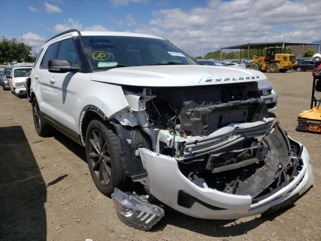 Salvage cars for sale from Copart San Diego, CA: 2018 Ford Explorer
