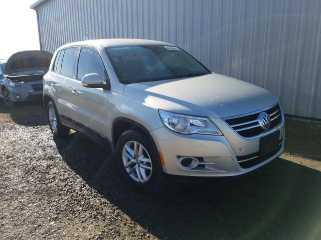 Salvage cars for sale from Copart Helena, MT: 2011 Volkswagen Tiguan S
