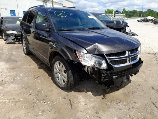 Salvage cars for sale from Copart Montgomery, AL: 2020 Dodge Journey SE