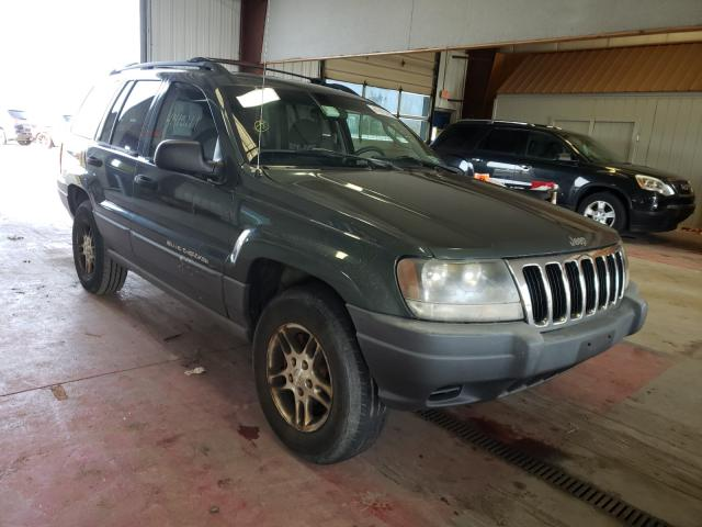 Salvage cars for sale from Copart Angola, NY: 2002 Jeep Grand Cherokee