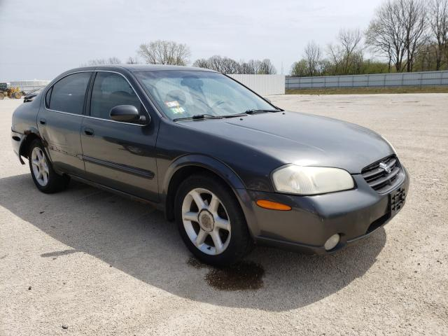 Salvage cars for sale from Copart Milwaukee, WI: 2000 Nissan Maxima GLE