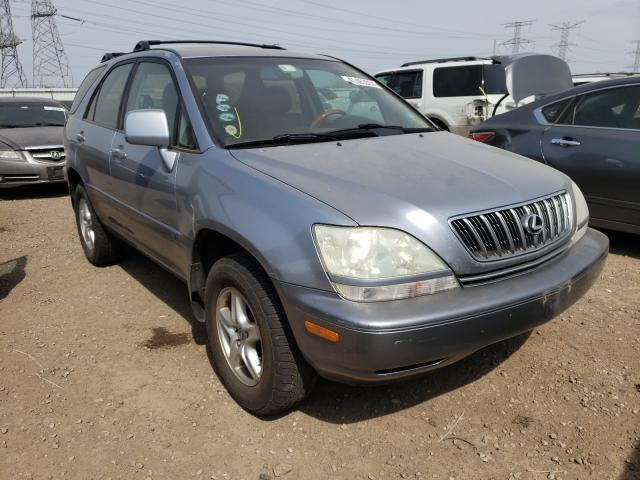 Salvage cars for sale from Copart Elgin, IL: 2003 Lexus RX 300