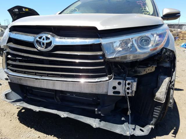 2015 Toyota Highlander 3.5L, VIN: 5TDBKRFH5FS******, аукцион: COPART, номер лота: 41365711