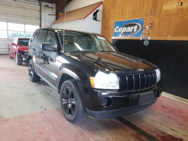 Salvage cars for sale from Copart Angola, NY: 2007 Jeep Grand Cherokee