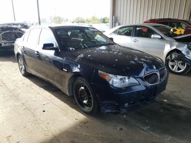 Vehiculos salvage en venta de Copart Fort Wayne, IN: 2007 BMW 525 XI