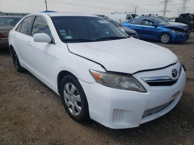 Salvage cars for sale from Copart Elgin, IL: 2010 Toyota Camry Hybrid