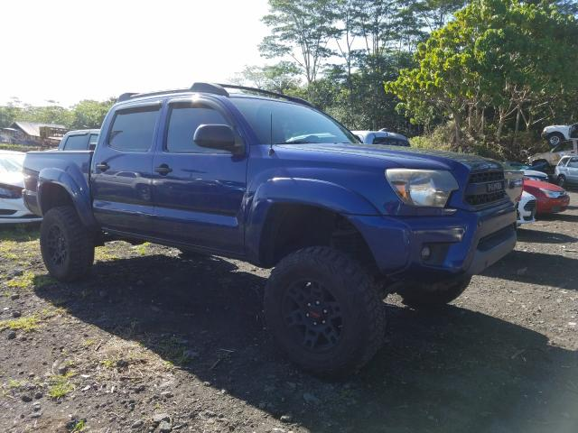Salvage cars for sale from Copart Kapolei, HI: 2015 Toyota Tacoma DOU
