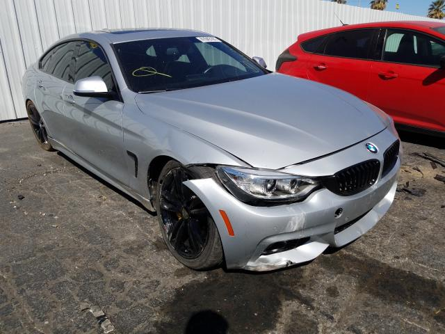 Salvage cars for sale from Copart Colton, CA: 2016 BMW 435 I Gran