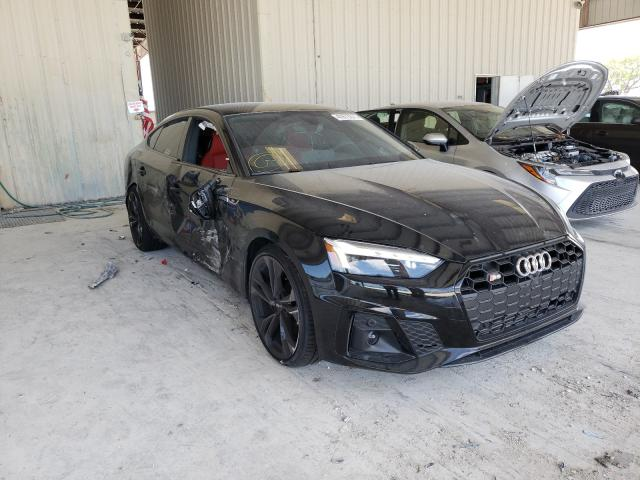 Salvage cars for sale from Copart Homestead, FL: 2021 Audi S5 Premium