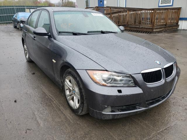 Salvage cars for sale from Copart Duryea, PA: 2008 BMW 328 XI