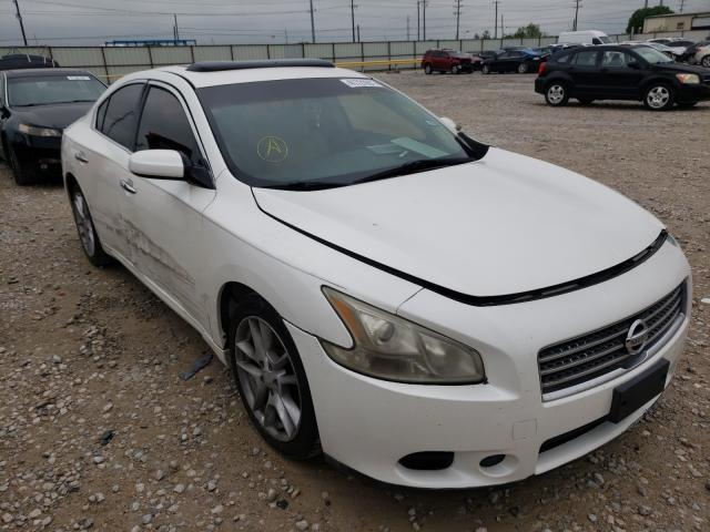 Salvage cars for sale from Copart Haslet, TX: 2010 Nissan Maxima